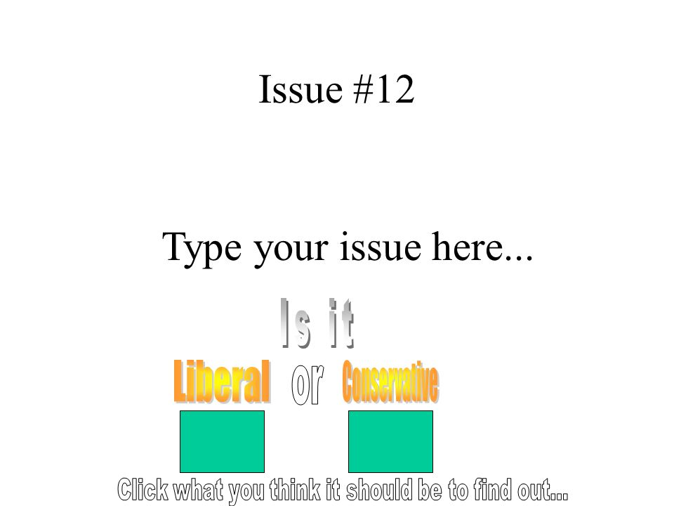 Issue #12 Type your issue here...