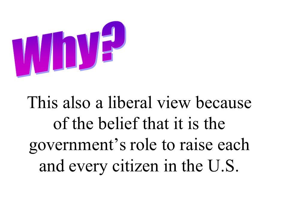 Issue #8 I believe government sponsored welfare programs are important.