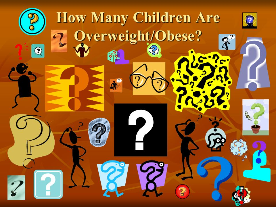 How Many Children Are Overweight/Obese?
