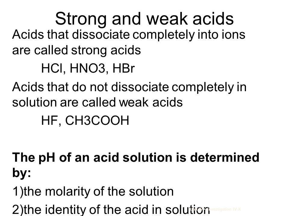Check-In A solution of hydrocyanic acid has a molarity of 0.010 M and a pH of 5.7.