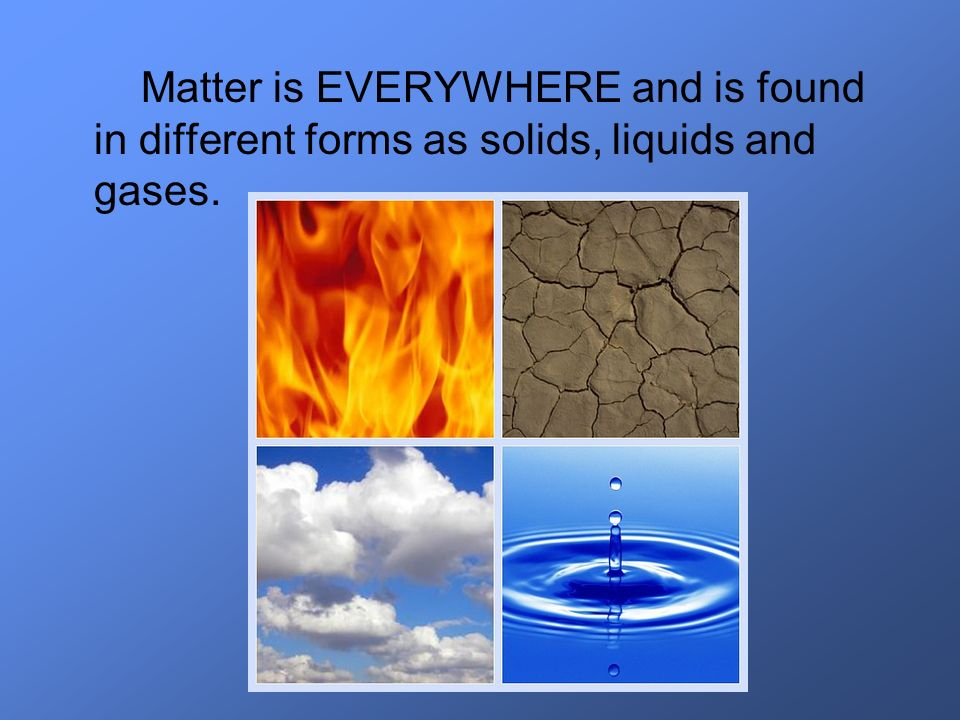When we examine a substance, we are interested in its properties.