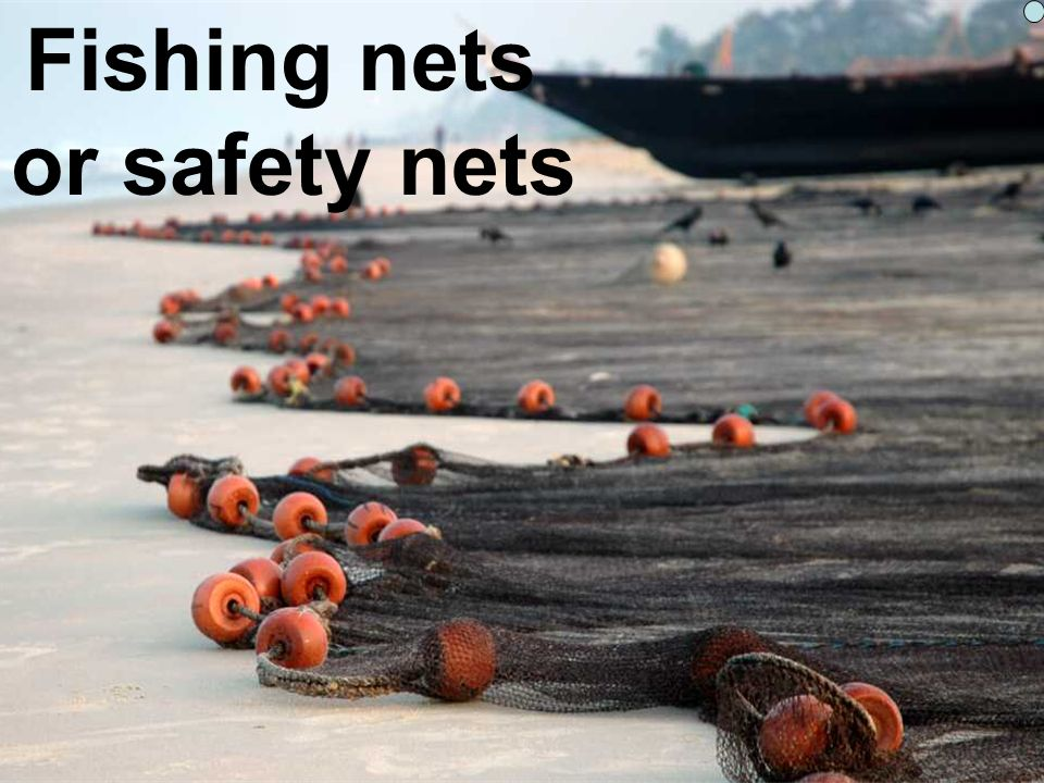 Fishing nets or safety nets