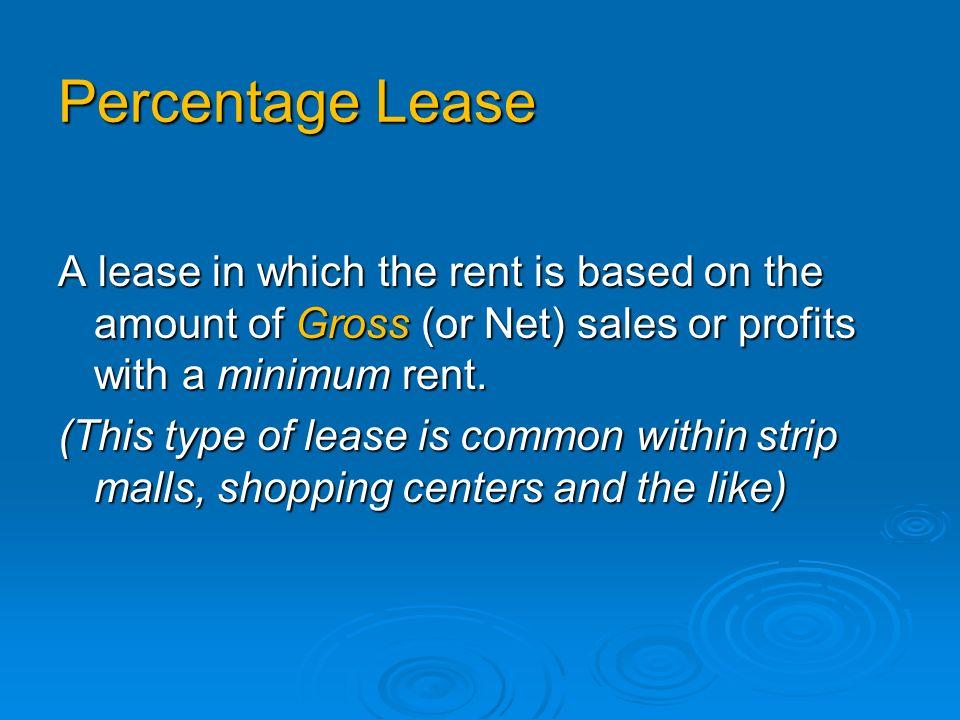 Parol Lease A Parol lease in an Unwritten (Oral) Lease e.g.
