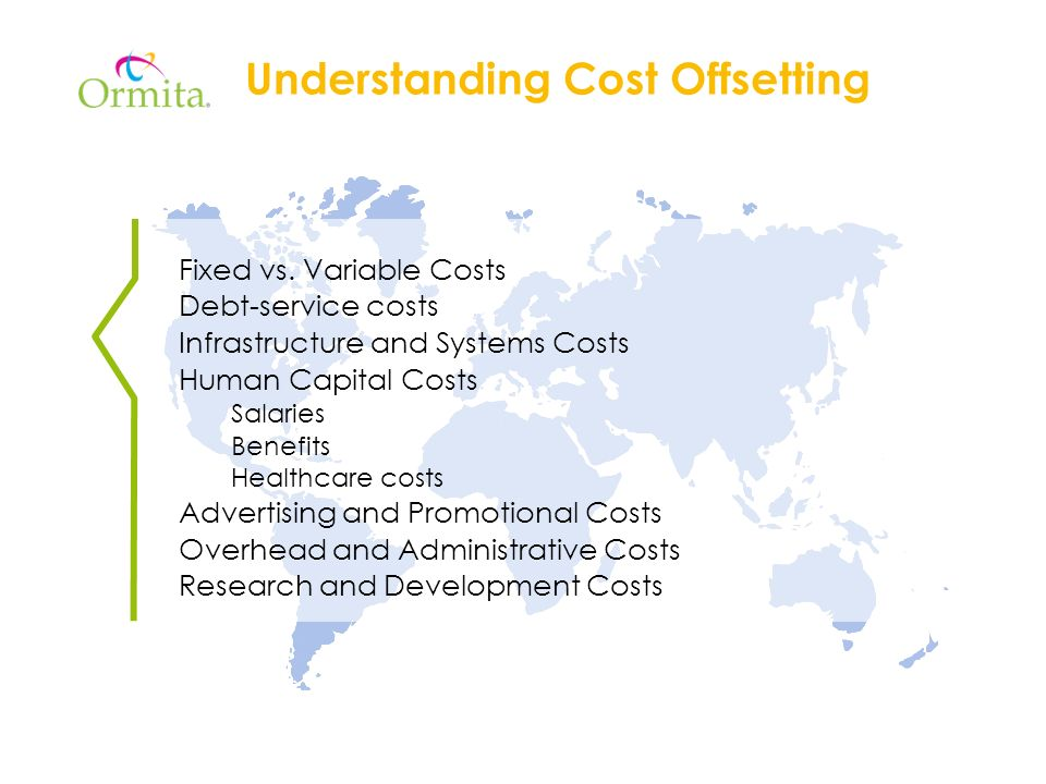 Understanding Cost Offsetting Fixed vs.