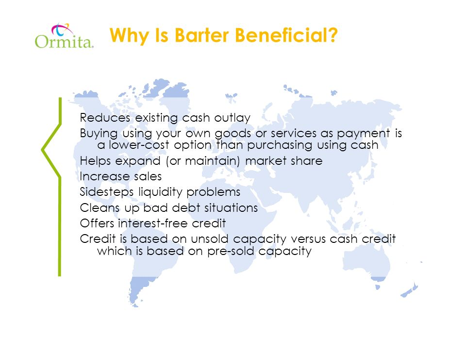 Why Is Barter Beneficial.