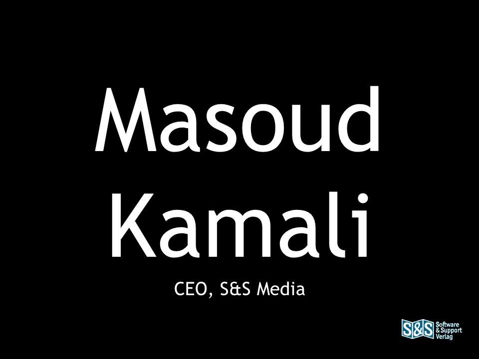 Masoud Kamali CEO, S&S Media