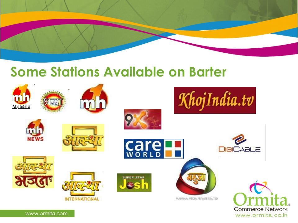 Some Stations Available on Barter www.ormita.com