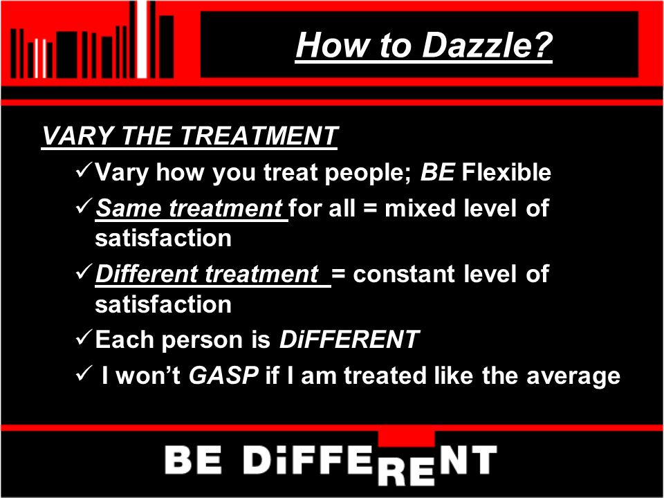 How to Dazzle.