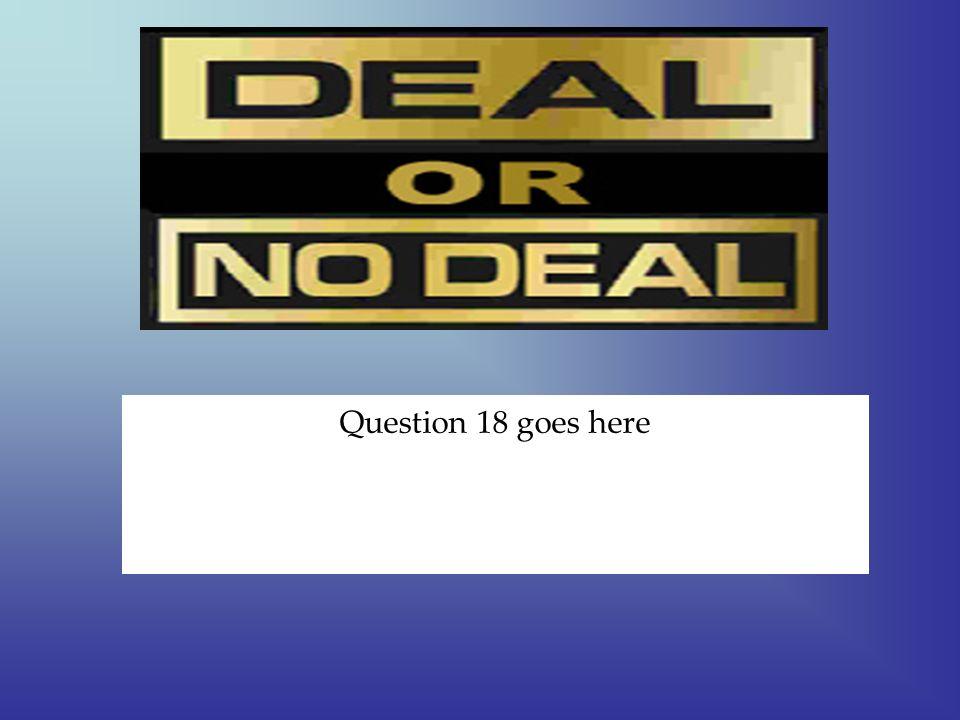 $ 10 answer