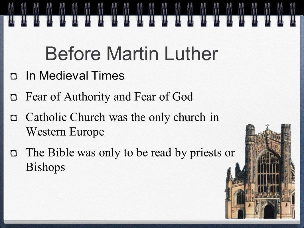 So What Happened to Martin Luther.
