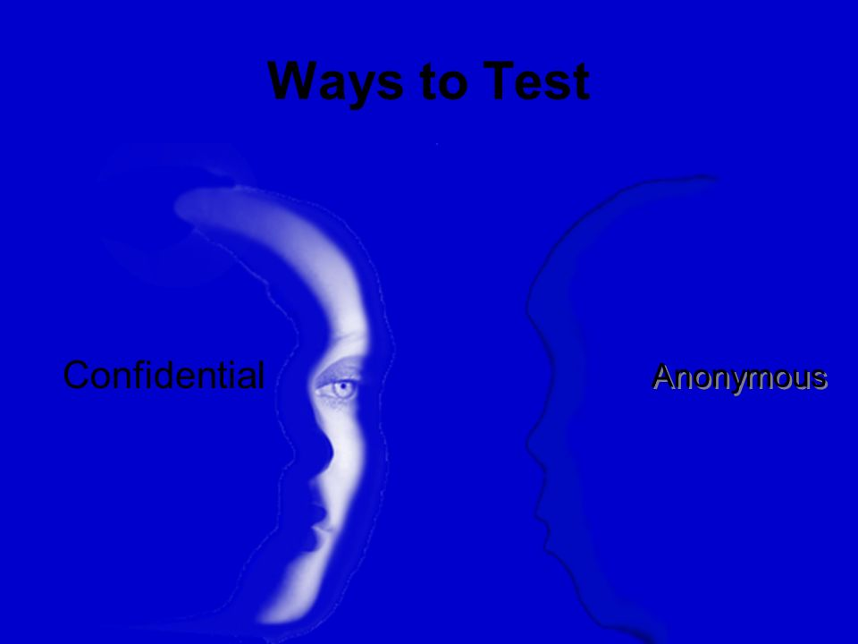 Ways to Test Anonymous Confidential