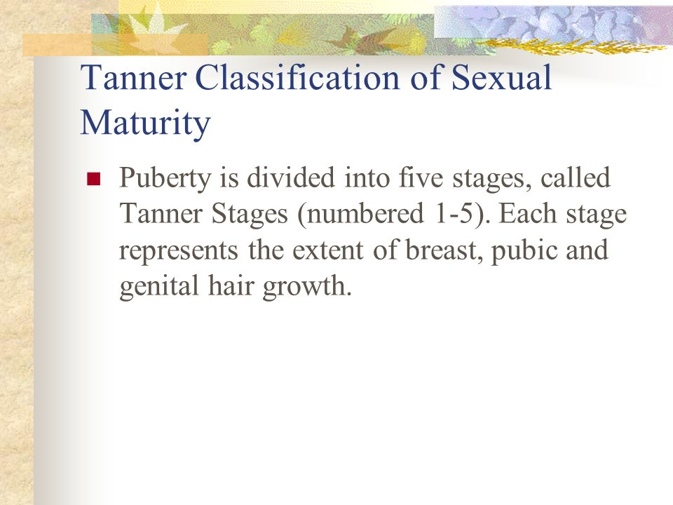 Secondary Sex Characteristics Defined as changes that make boys and girls look like mature men and women Girls -Breast Development-Body Odor -Body fat