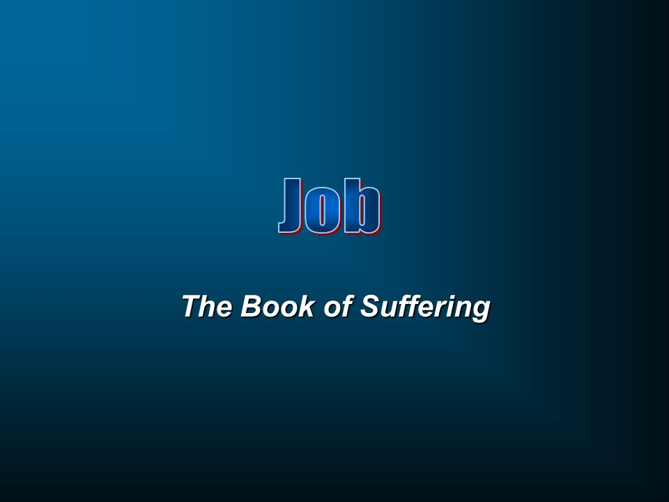 The Book of Suffering