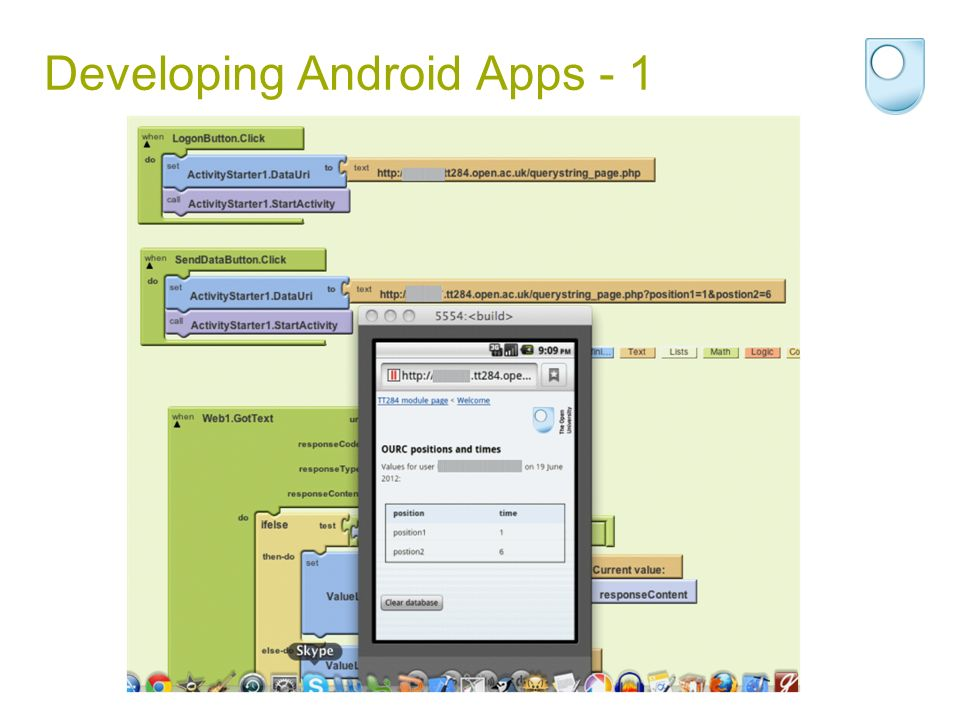 Developing Android Apps - 1