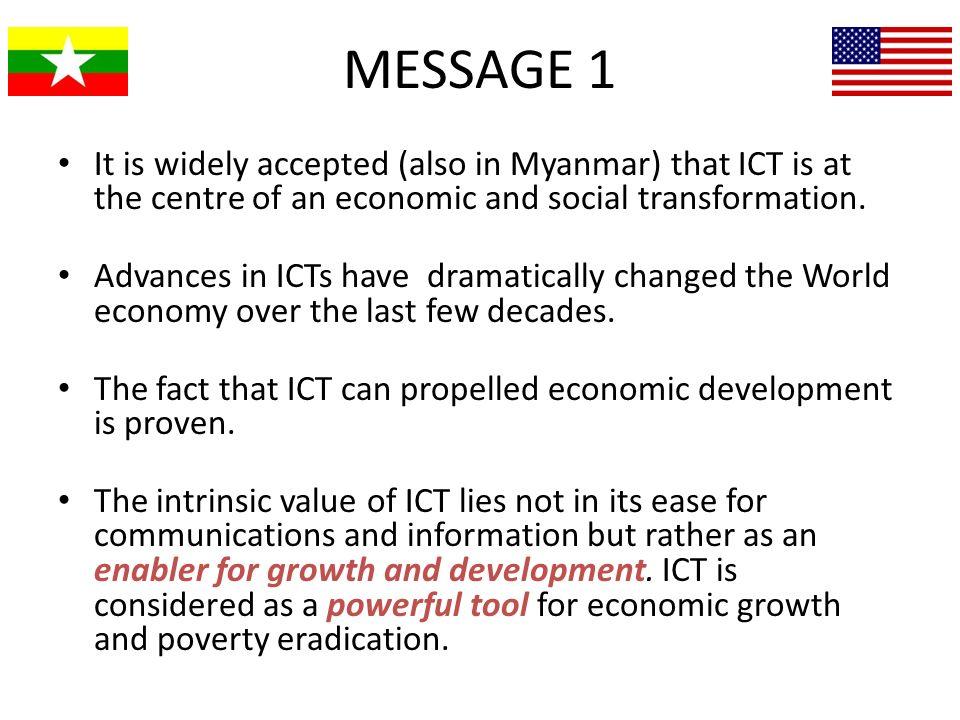 Investment in ICT Infrastructure development.