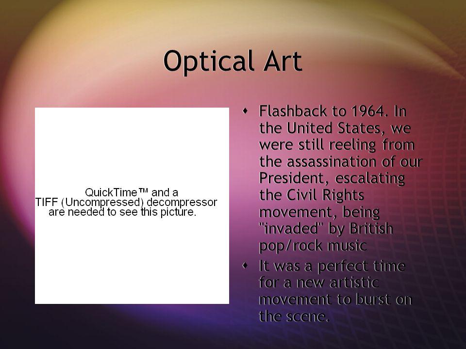 Optical Art Flashback to 1964.