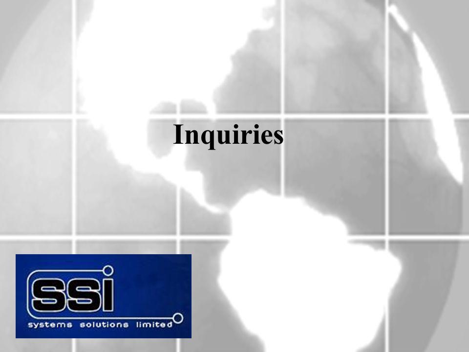 Inquiries