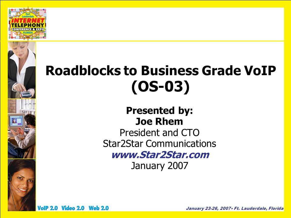 January 23-26, 2007 Ft.