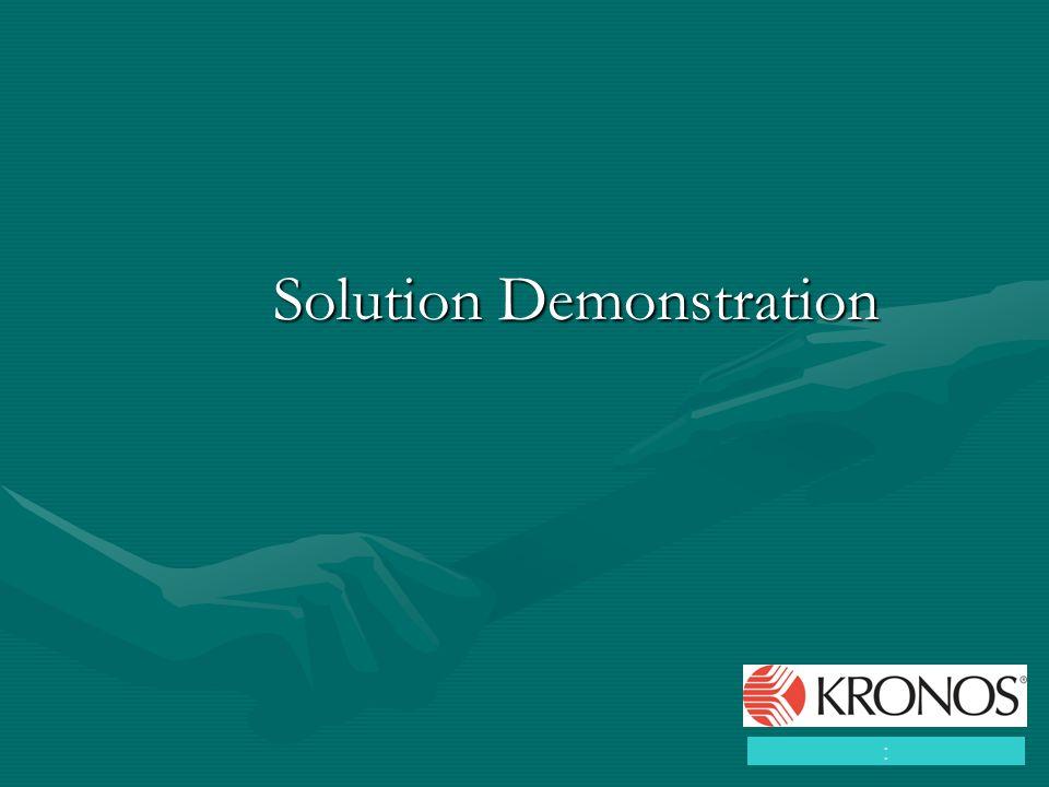 Solution Demonstration :