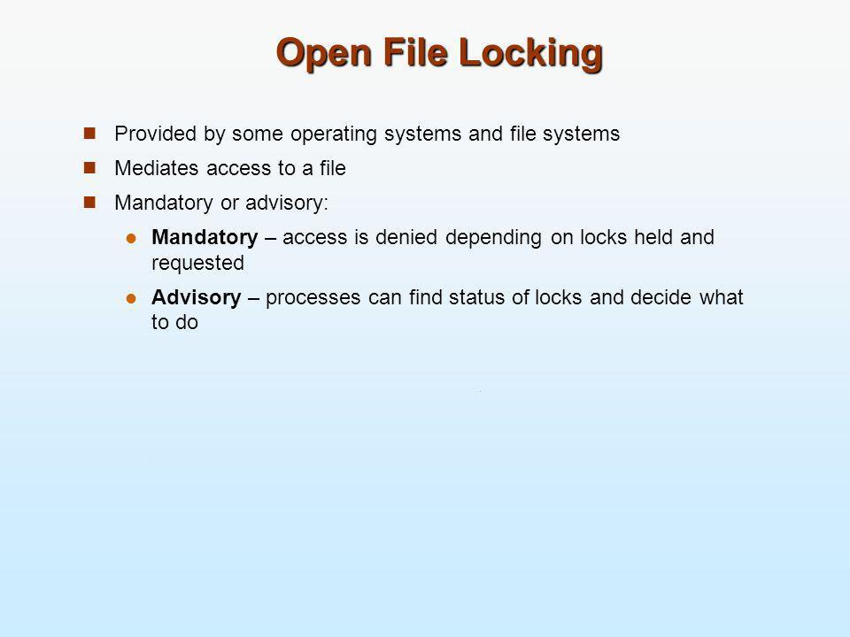 A Sample UNIX Directory Listing