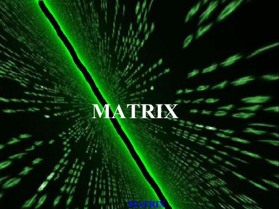 MATRIX, Encryption Combination of 2 classical encryption techniques are used –Transposition –Substitution In transposition technique the ordering of characters in the text is changed without changing the character.