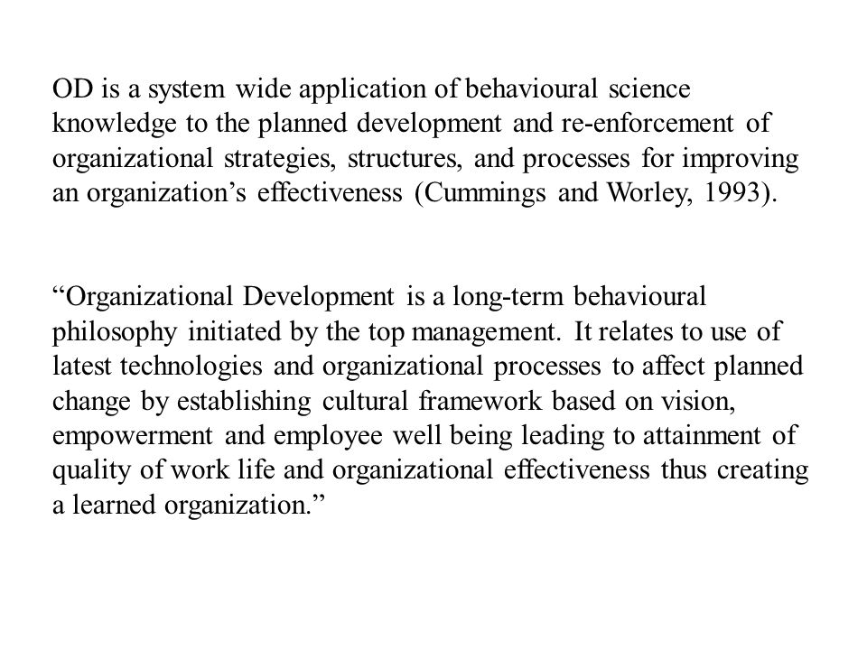 SYSTEMS THEORY-foundation of O.D.