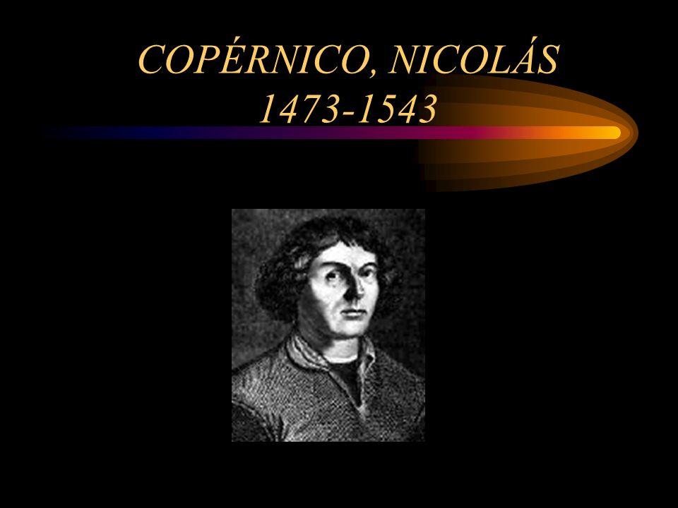 COPÉRNICO, NICOLÁS 1473-1543