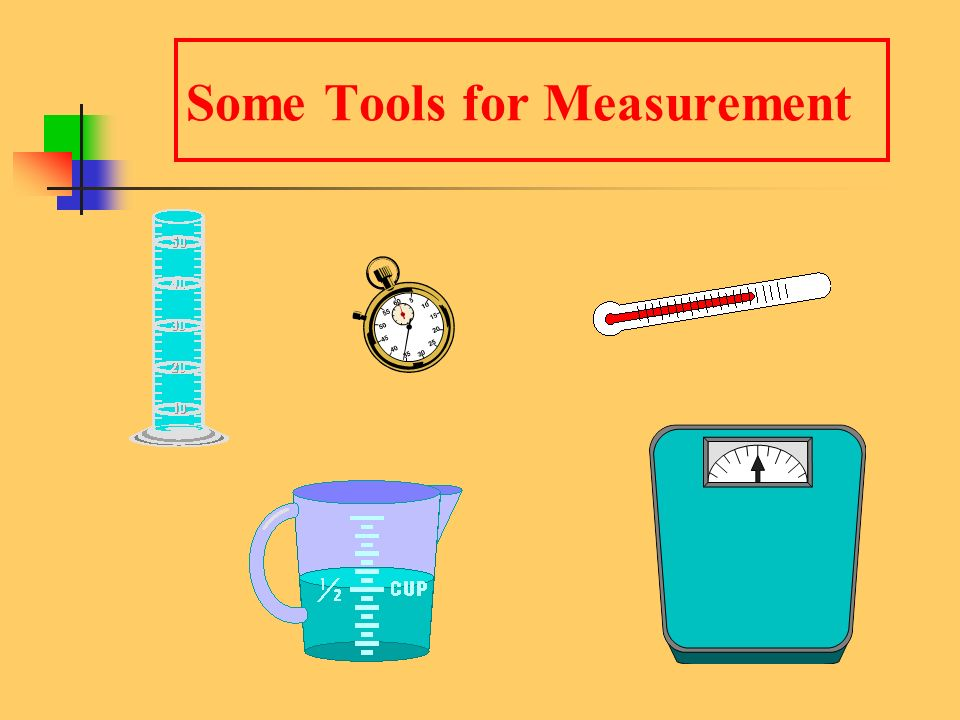 Learning Check From the previous slide, state the tool (s) you would use to measure A.