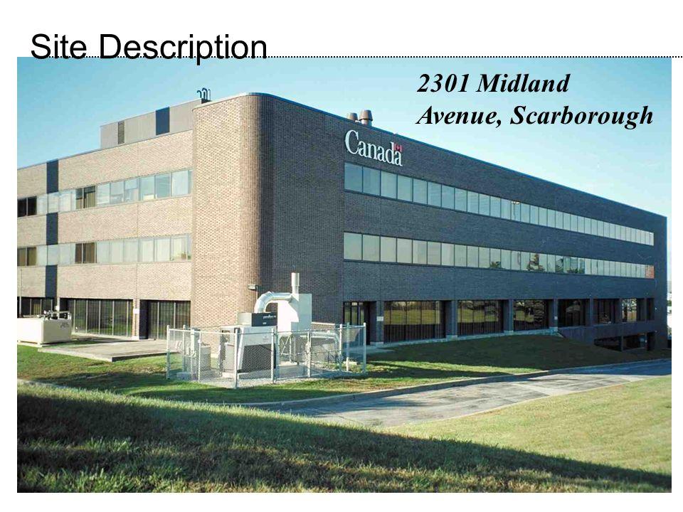 2301 Midland Avenue, Scarborough Site Description