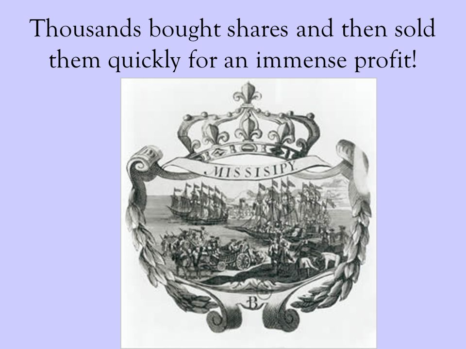 Thousands bought shares and then sold them quickly for an immense profit!