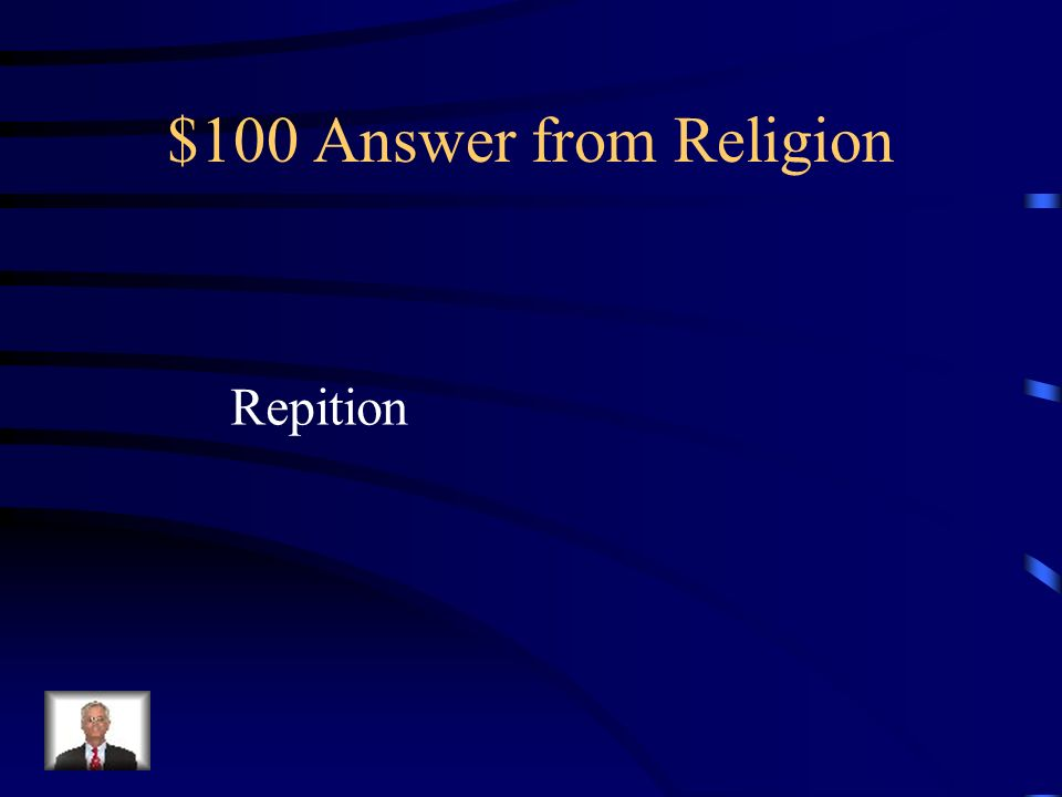$100 Question from Religion In the Bible, God stated 365 times Thou shall not fear.