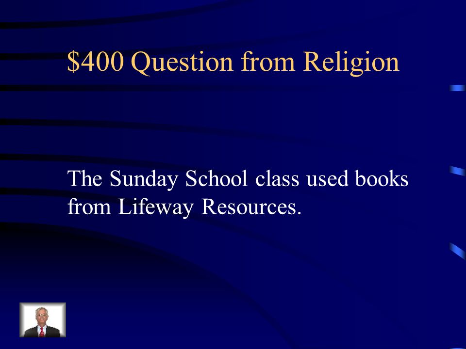 $300 Answer from Religion Humor