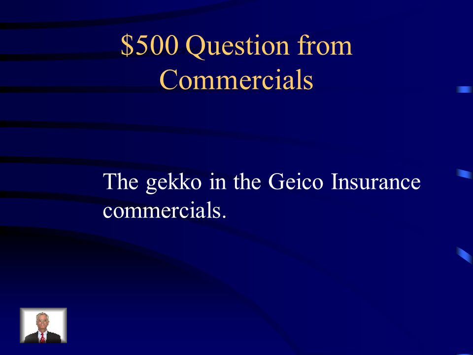 $400 Answer from Commercials Humor