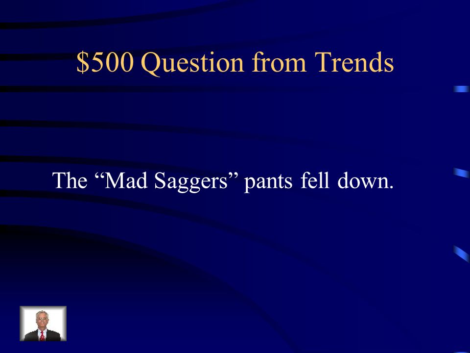 $400 Answer from Trends Association