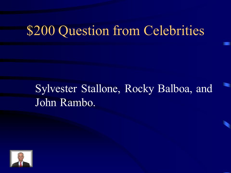 $100 Answer from Celebrities Bandwagon