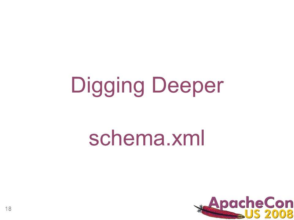 18 Digging Deeper schema.xml