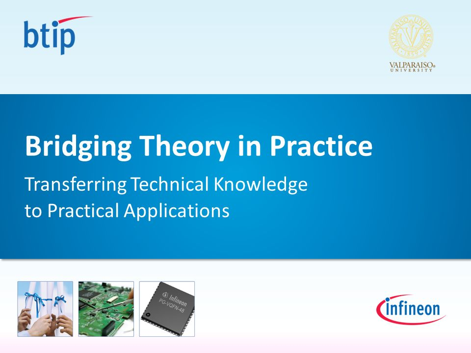 Bridging Theory in Practice Transferring Technical Knowledge to Practical Applications
