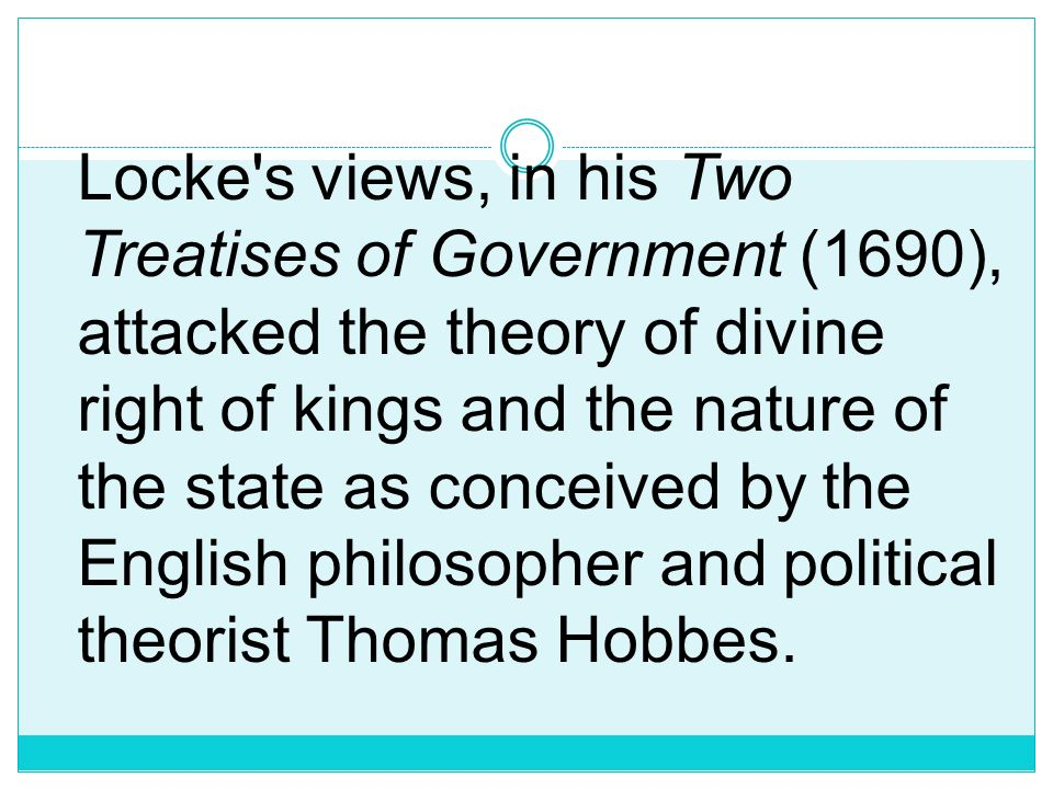 John Locke (1632- 1704), English philosopher Locke was born in the village of Wrington, Somerset, on August 29, 1632. He was educated at the Universit