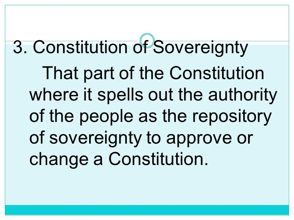 2. The Constitution of Liberty The provisions guaranteeing individual rights which may be invoked against the massive powers of the government in case