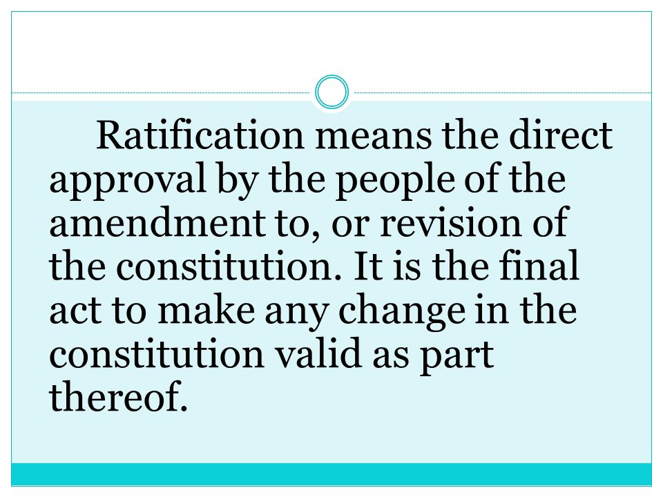Any amendment under Sec. 2 hereof shall be valid when ratified by a majority of the votes cast in a plebiscite which shall be held not later than sixt