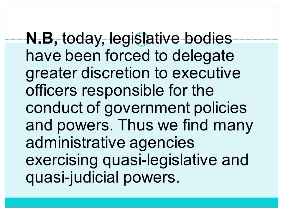 2.As to extent of powers exercised by the central or national government; 3.
