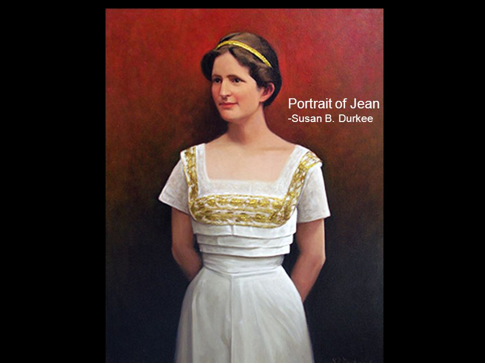 Portrait of Jean -Susan B. Durkee
