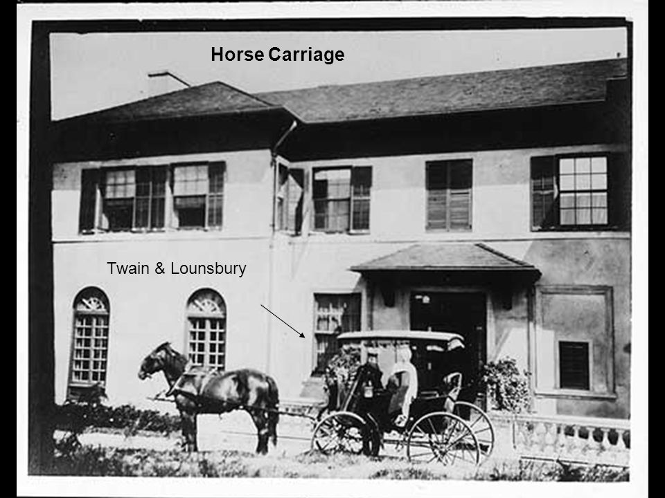 Twain & Lounsbury Horse Carriage