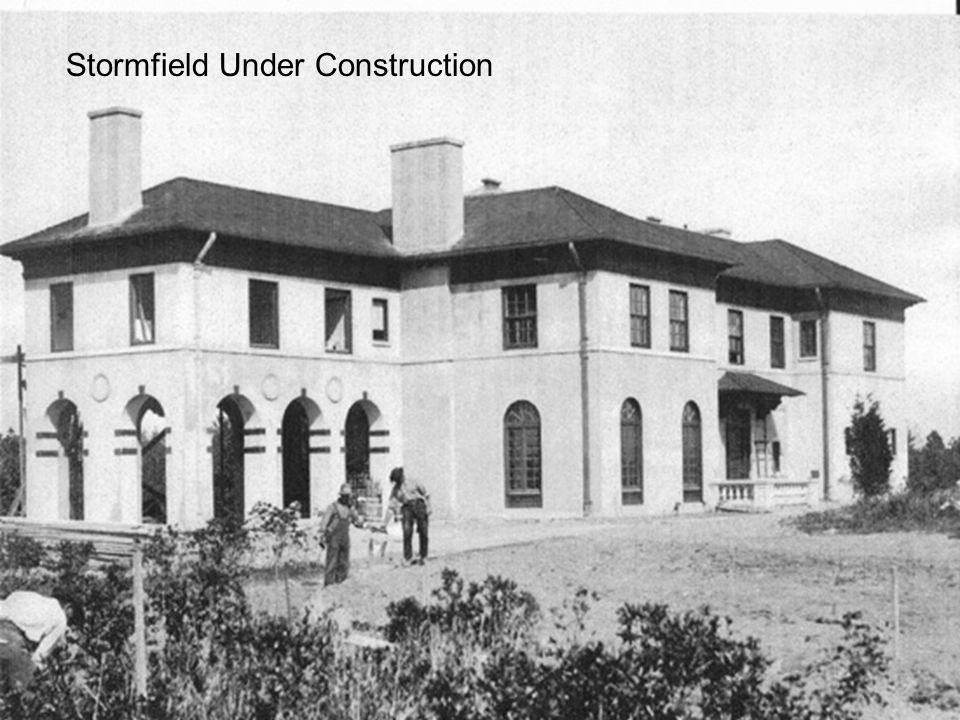 Stormfield Under Construction