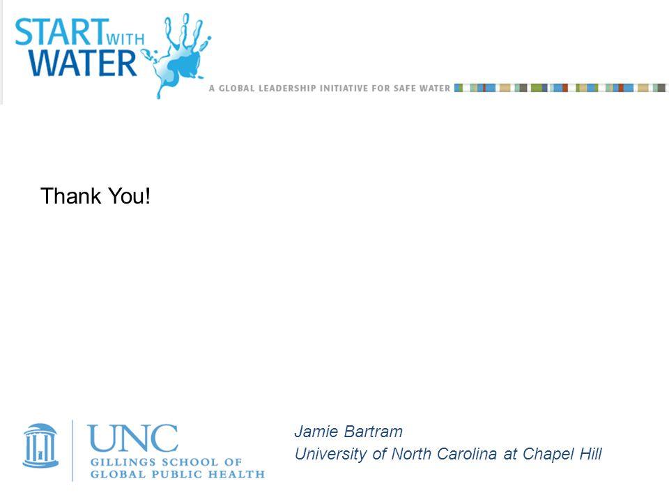 Jamie Bartram University of North Carolina at Chapel Hill Thank You!