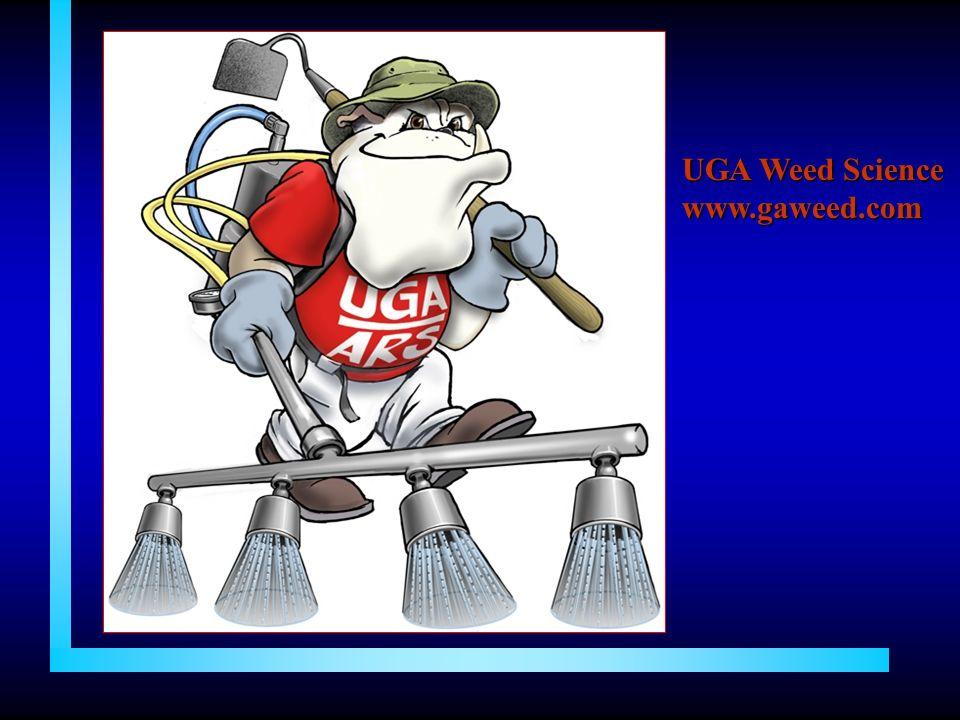 UGA Weed Science www.gaweed.com