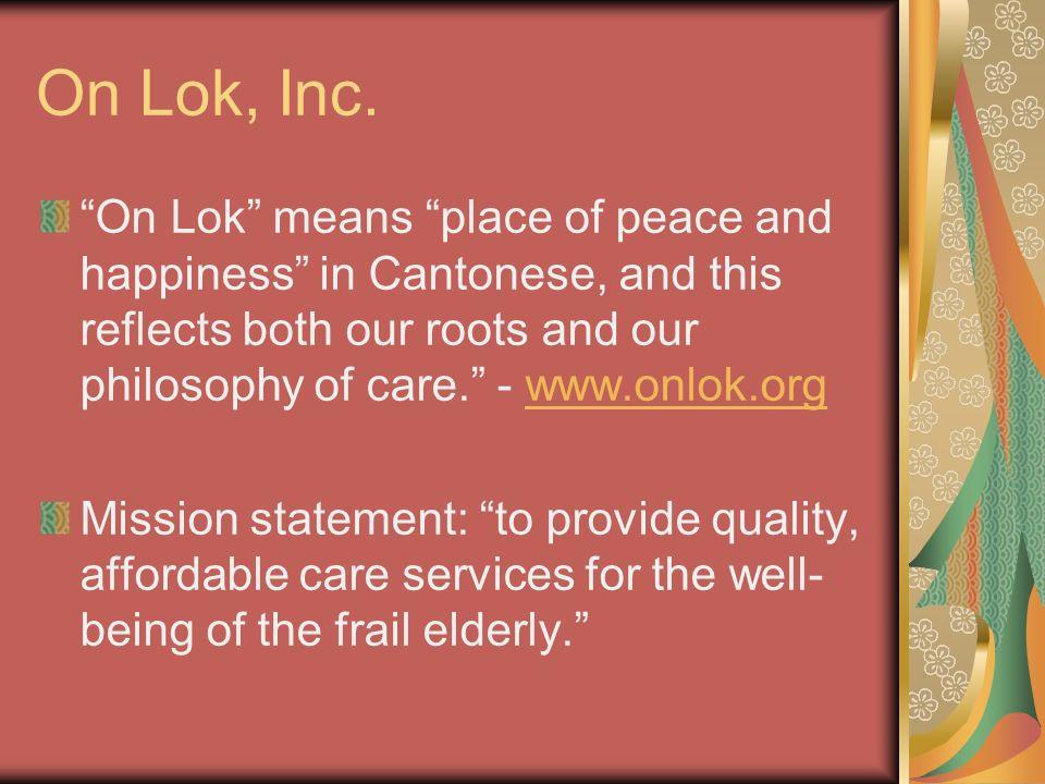 On Lok, Inc.
