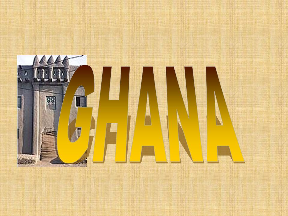 Ghana developed in West Africa between the Niger (NI-jhur) and the Gambia Rivers.