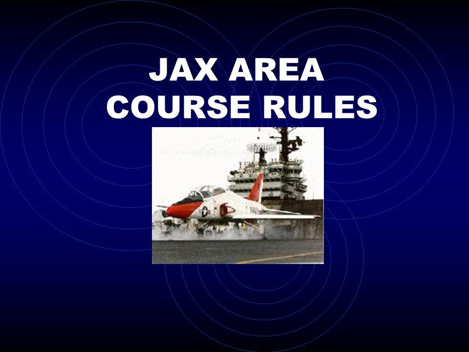 JAX AREA COURSE RULES