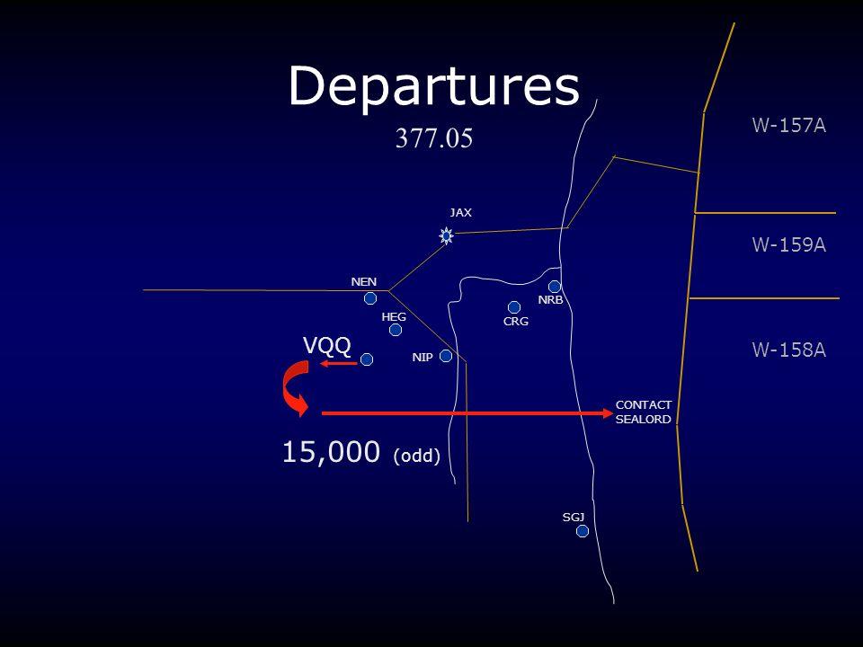 Departures JAX NRB CRG NIP VQQ HEG NEN W-157A W-159A W-158A SGJ 377.05 15,000 (odd) CONTACT SEALORD